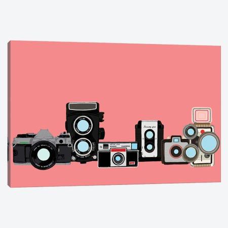 Cameras Coral Canvas Print #JYM172} by Jaymie Metz Canvas Print