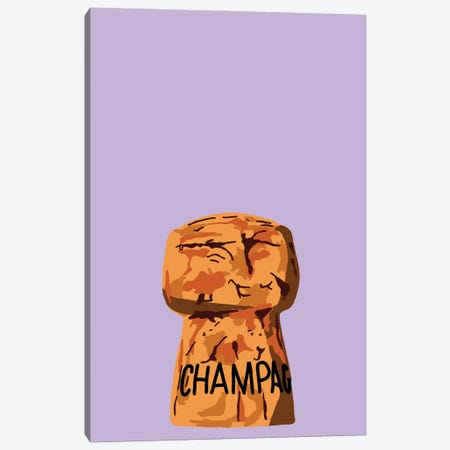 Champagne Cork Canvas Print #JYM17} by Jaymie Metz Canvas Artwork