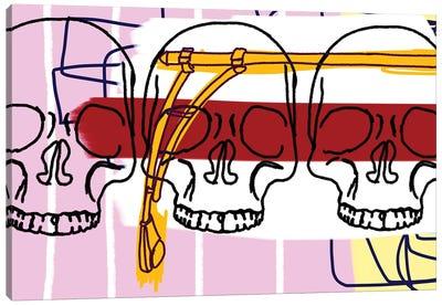 3 Knuckle Heads Canvas Art Print
