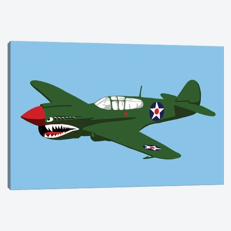 Kittyhawk Canvas Print #JYM237} by Jaymie Metz Canvas Print