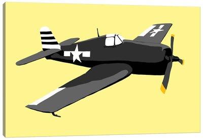 WWII Plane 1 Canvas Art Print