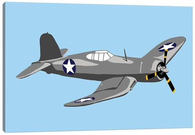 WWII Plane 2 Canvas Art Print