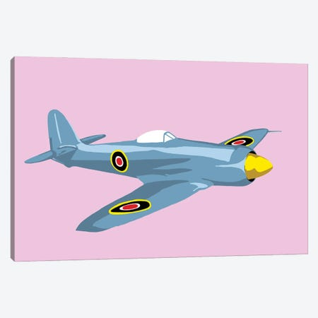 WWII Plane 3 Canvas Print #JYM250} by Jaymie Metz Canvas Artwork