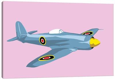 WWII Plane 3 Canvas Art Print