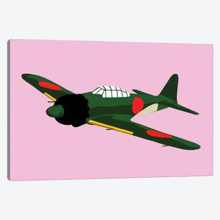 WWII Plane 4 Canvas Print #JYM251} by Jaymie Metz Canvas Artwork