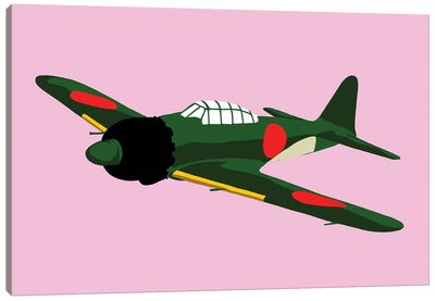 WWII Plane 4 Canvas Art Print