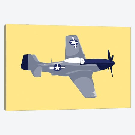 WWII Plane 5 Canvas Print #JYM252} by Jaymie Metz Canvas Art