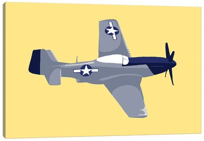WWII Plane 5 Canvas Art Print