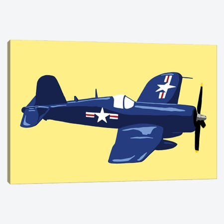 WWII Plane 6 Canvas Print #JYM253} by Jaymie Metz Canvas Artwork