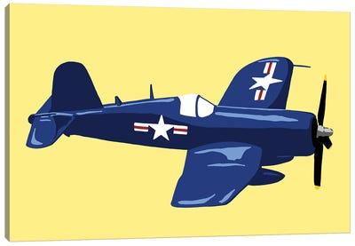 WWII Plane 6 Canvas Art Print