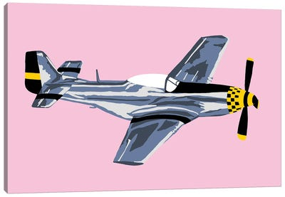WWII Plane 7 Canvas Art Print