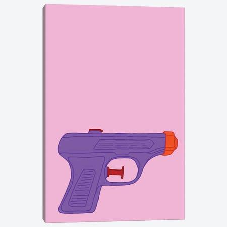 Purple Squirt Gun Pink Canvas Print #JYM276} by Jaymie Metz Canvas Print