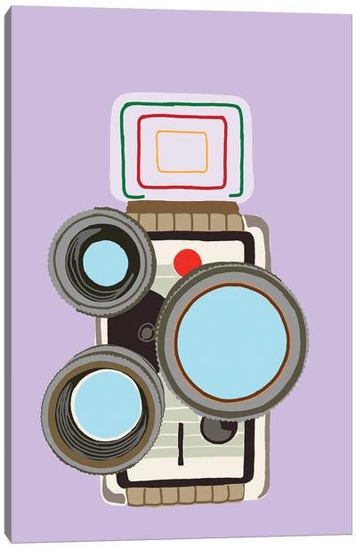 8mm Film Camera Canvas Art Print