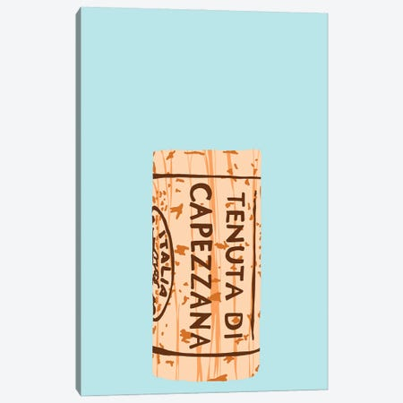 Wine Cork I Canvas Print #JYM305} by Jaymie Metz Art Print
