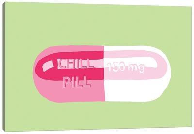 Chill Pill Mint Canvas Art Print