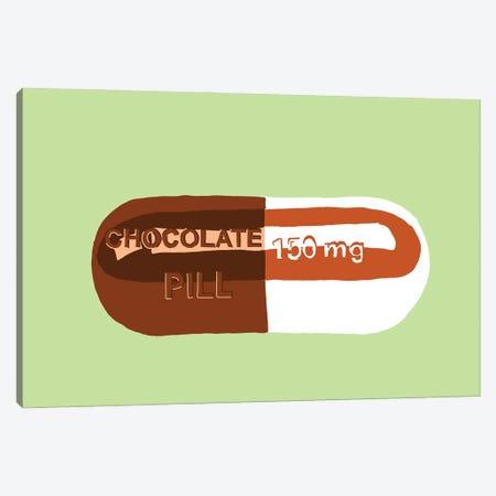 Chocolate Pill Mint Canvas Print #JYM38} by Jaymie Metz Art Print