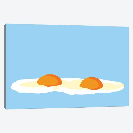 Eggs Canvas Print #JYM62} by Jaymie Metz Canvas Artwork