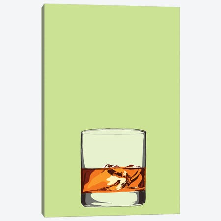 Glass Of Whisky Canvas Print #JYM64} by Jaymie Metz Canvas Art Print