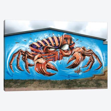 Crab Wall Canvas Print #JYN10} by JAYN Canvas Art