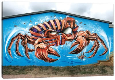 Crab Wall Canvas Art Print