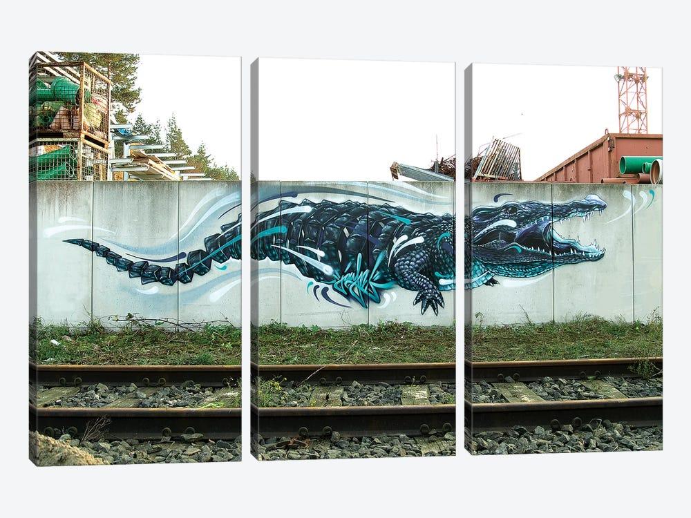 Croco by JAYN 3-piece Canvas Print