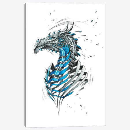 Dragon Canvas Print #JYN13} by JAYN Canvas Artwork
