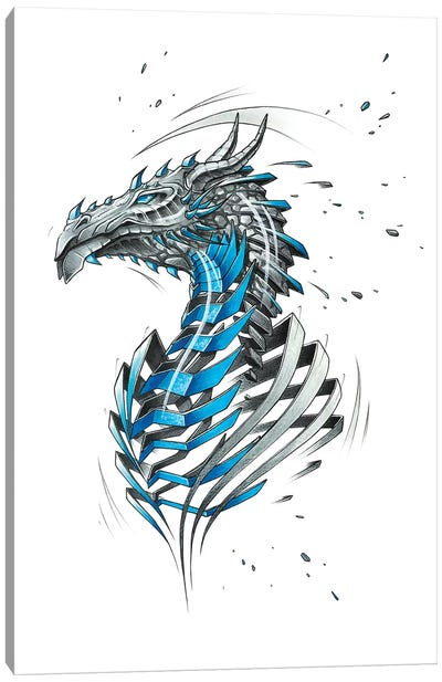 Dragon by JAYN Canvas Art Print