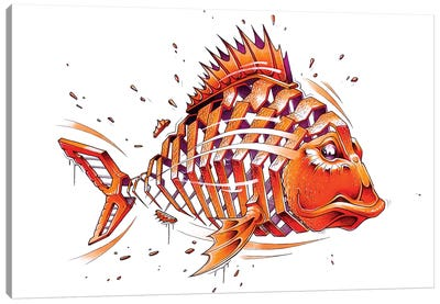 Fish by JAYN Canvas Art Print