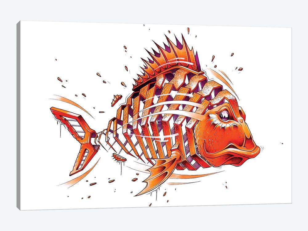 Fish by JAYN 1-piece Canvas Art
