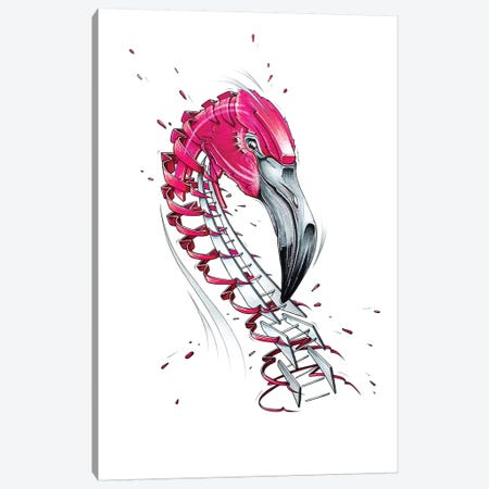 Flamingo Canvas Print #JYN17} by JAYN Canvas Print
