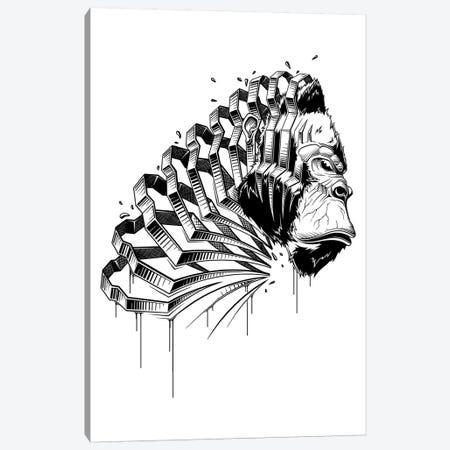 Gorilla Canvas Print #JYN19} by JAYN Canvas Artwork