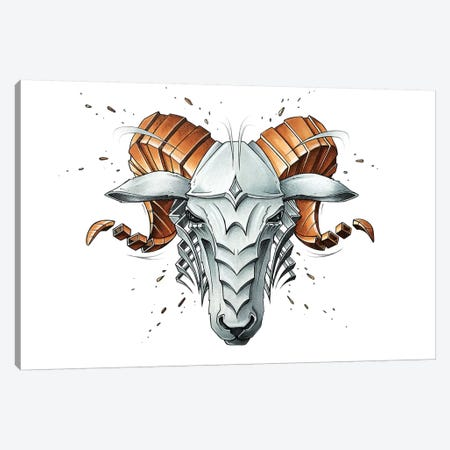 Aries Canvas Print #JYN1} by JAYN Canvas Artwork