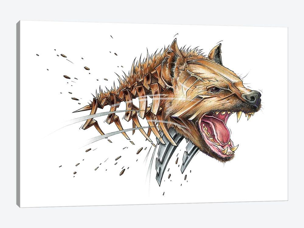 Hyena by JAYN 1-piece Canvas Print