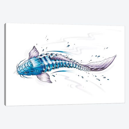 Koi Canvas Print #JYN26} by JAYN Canvas Wall Art
