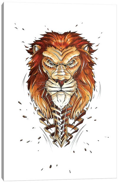Lion by JAYN Canvas Art Print
