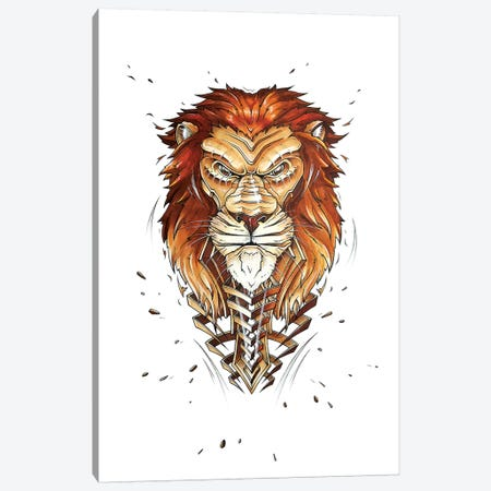 Lion Canvas Print #JYN28} by JAYN Canvas Art Print