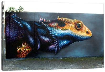 Lizard Wall I  Canvas Art Print