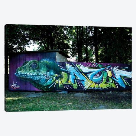 Lizard Wall II Canvas Print #JYN35} by JAYN Canvas Art Print