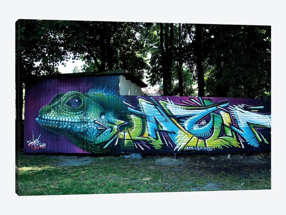 Lizard Wall II by JAYN 1-piece Canvas Print