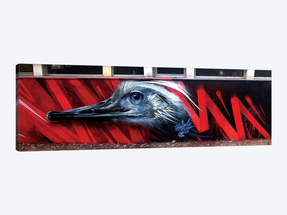 Ostrich Wall by JAYN 1-piece Canvas Print