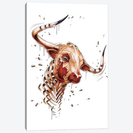 Bull Canvas Print #JYN3} by JAYN Canvas Art