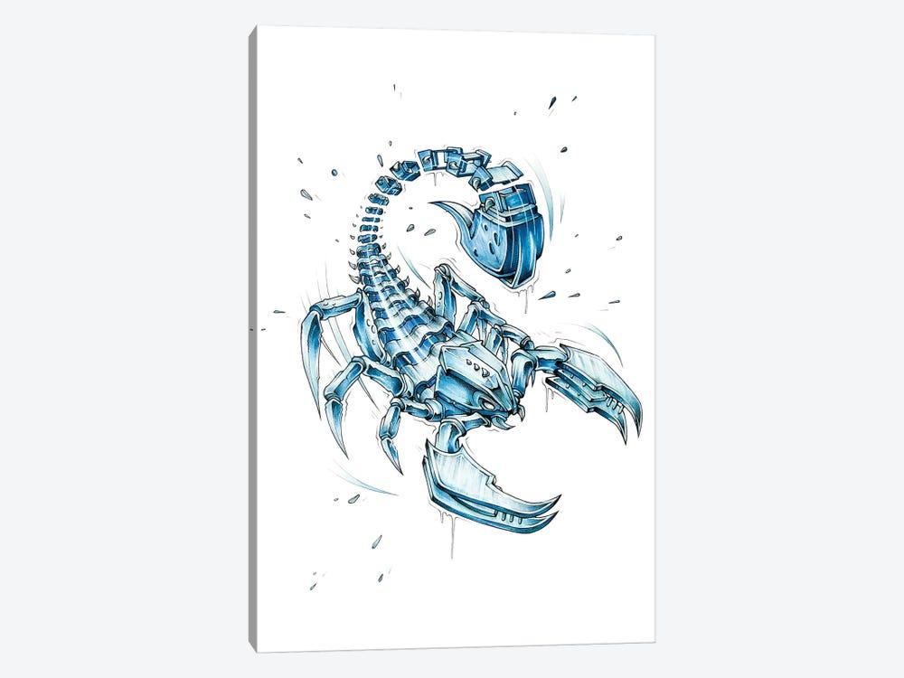 Scorpion Slice by JAYN 1-piece Canvas Art
