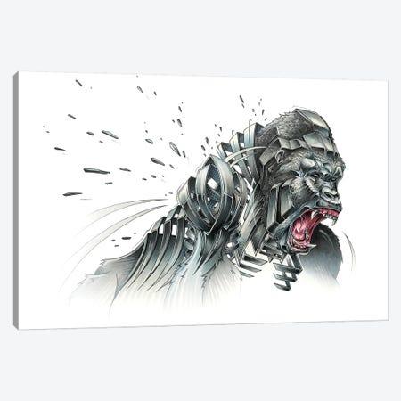 Silverback Canvas Print #JYN54} by JAYN Canvas Print