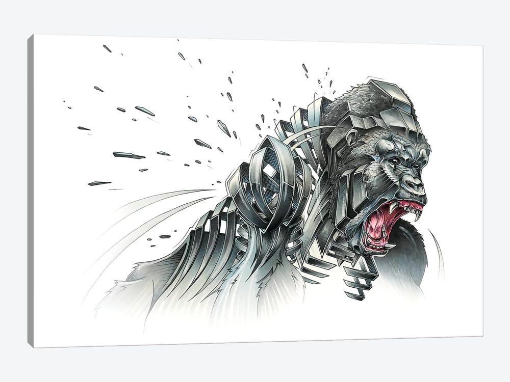 Silverback by JAYN 1-piece Canvas Artwork