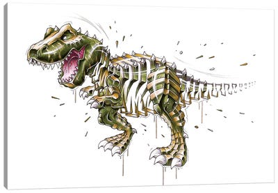 TRex by JAYN Canvas Art Print