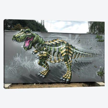 Trex Wall Canvas Print #JYN61} by JAYN Art Print