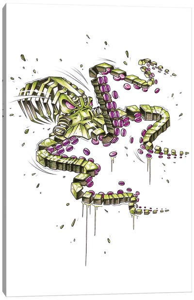 Tricopus Slice Canvas Art Print