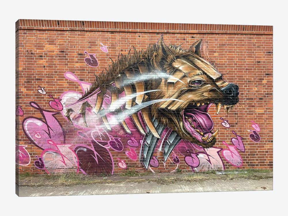 Hyena Wall by JAYN 1-piece Canvas Wall Art