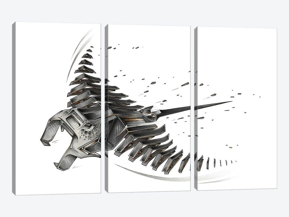 Manta Ray by JAYN 3-piece Art Print