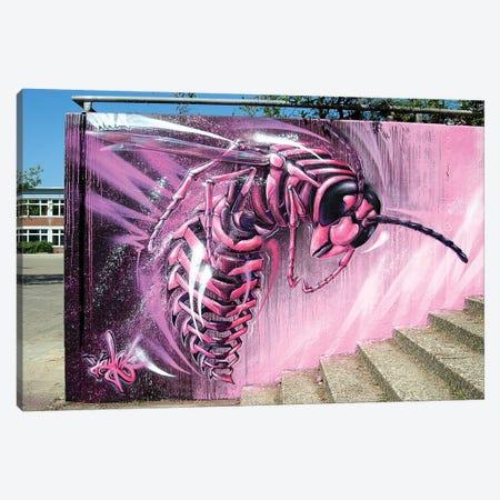 Wild Wild Wasp Canvas Print #JYN72} by JAYN Canvas Art